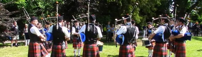 Paris and District Pipe Band